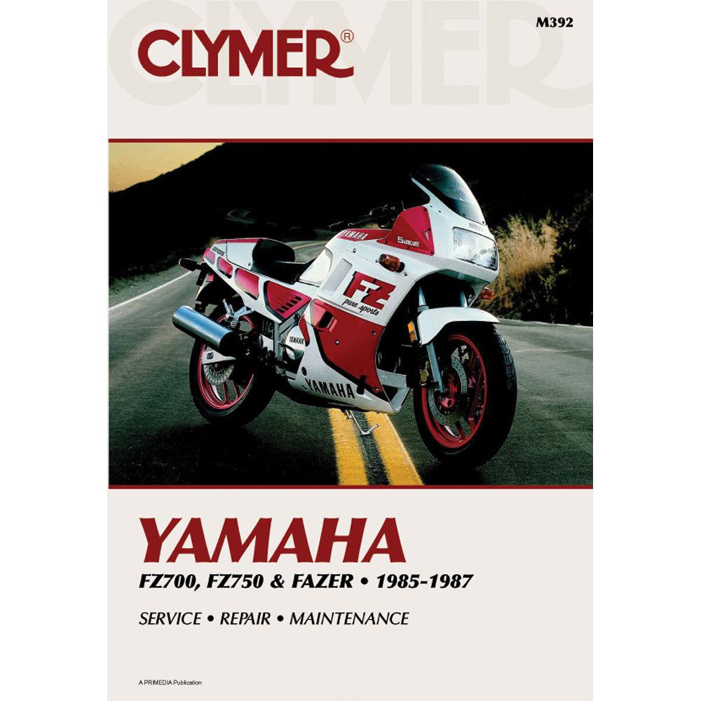 CLYMER MANUAL: YAMAHA FZ700-750 & FAZER 1985-1987