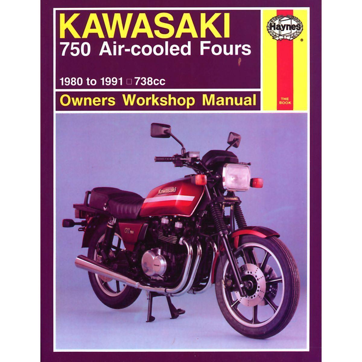 HAYNES MANUAL: KAWASAKI 750 AIR-COOLED FOURS 1980-1991