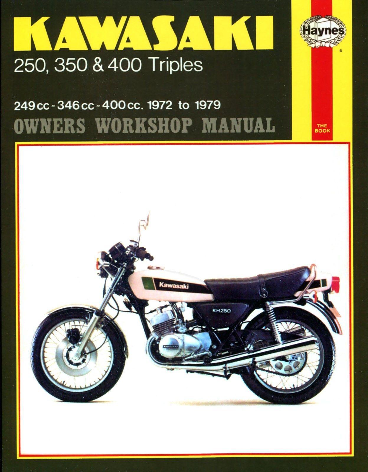 HAYNES MANUAL: KAWASAKI S1, S2, S3, KH250, KH350, KH400 1972