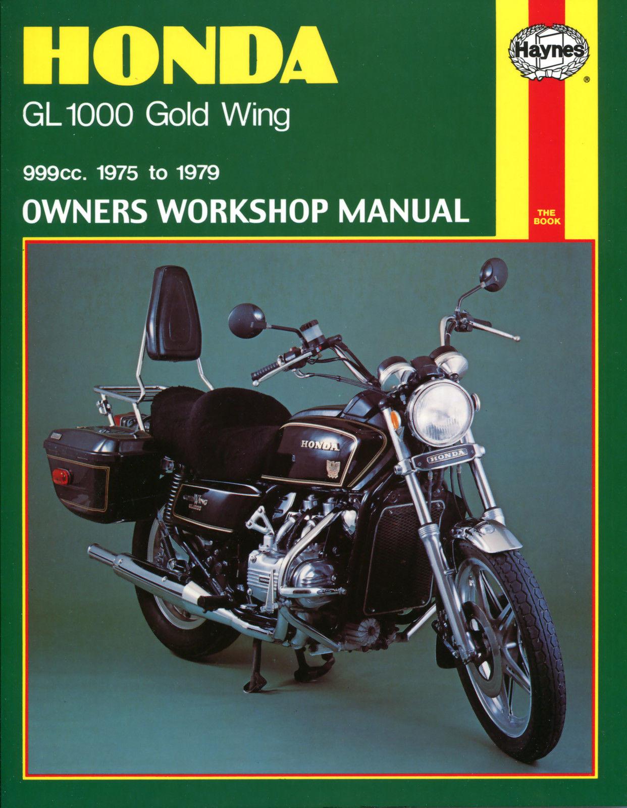 HAYNES MANUAL: HONDA GOLD WING GL1000 1976-1979
